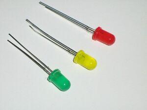 Diodi-LED-5MM-Verde-Giallo-Rosso-Mixed-Arduino-Componenti-Electronics