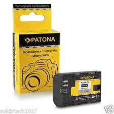 batteria lpe6 per canon 7d 1300 mah compatibile