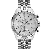 Bulova Accutron Men's Accu Swiss Murren Chronograph Automatic Watch (Silver)