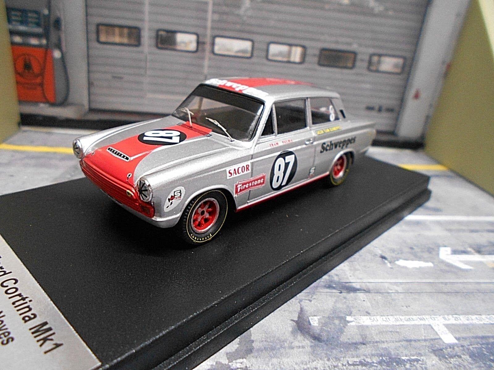 precios bajos todos los dias Ford cortina MKI racing viajes auto auto auto Spain 1968  87 neves Vila Real Trofeu 1 43  Para tu estilo de juego a los precios más baratos.