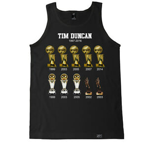 2fa9624ad TIM DUNCAN Trophy San Antonio Spurs NBA Basketball Champion Final ...