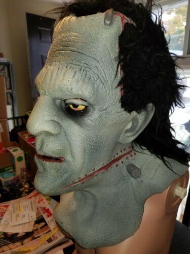 Frankenstein Mask Head Large & Rare Matching Hands