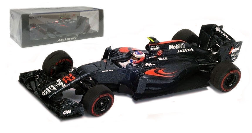 Spark S5012 McLaren MP4-31 22 Australia GP 2018-Jenson Button Escala 1/43
