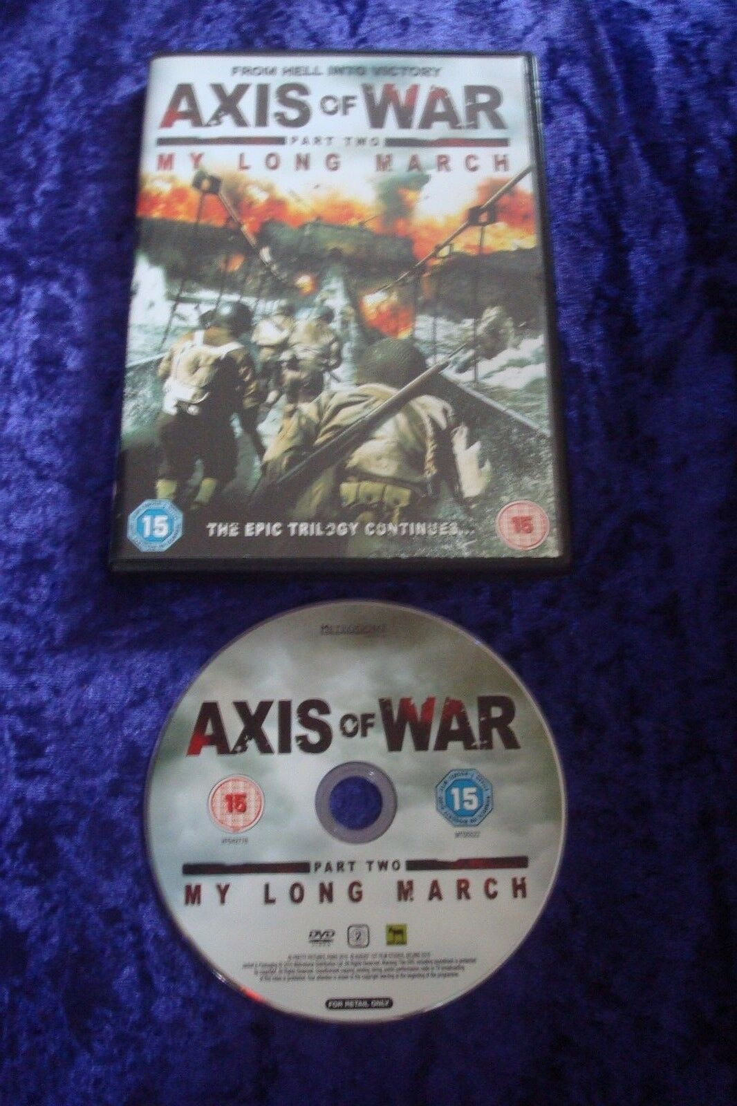 axis of war my long march