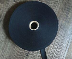 Gummizug-25-m-18-mm-Schwarz-Gummiband-Gummilitze-Litze-Hosengummi-Band-AE