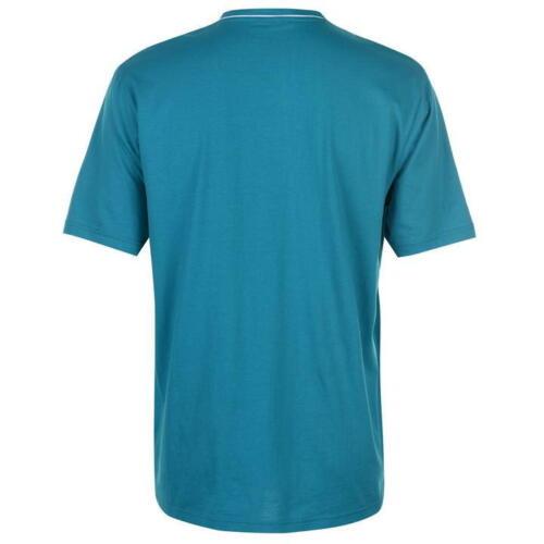 ✅ Slazenger Hommes Tshirt V Décolleté Neck Loisirs Fitness Sport d/'été Chemise