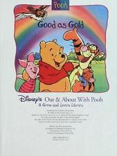 """Disney's """"Out and About with Pooh"""" Library: Good as Gold Vol. 1 by Disney Staff (1996, Hardcover)"""