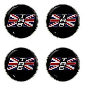 Triumph dolomite 1850HL logo self adhésif lot de 4 gel roue centres