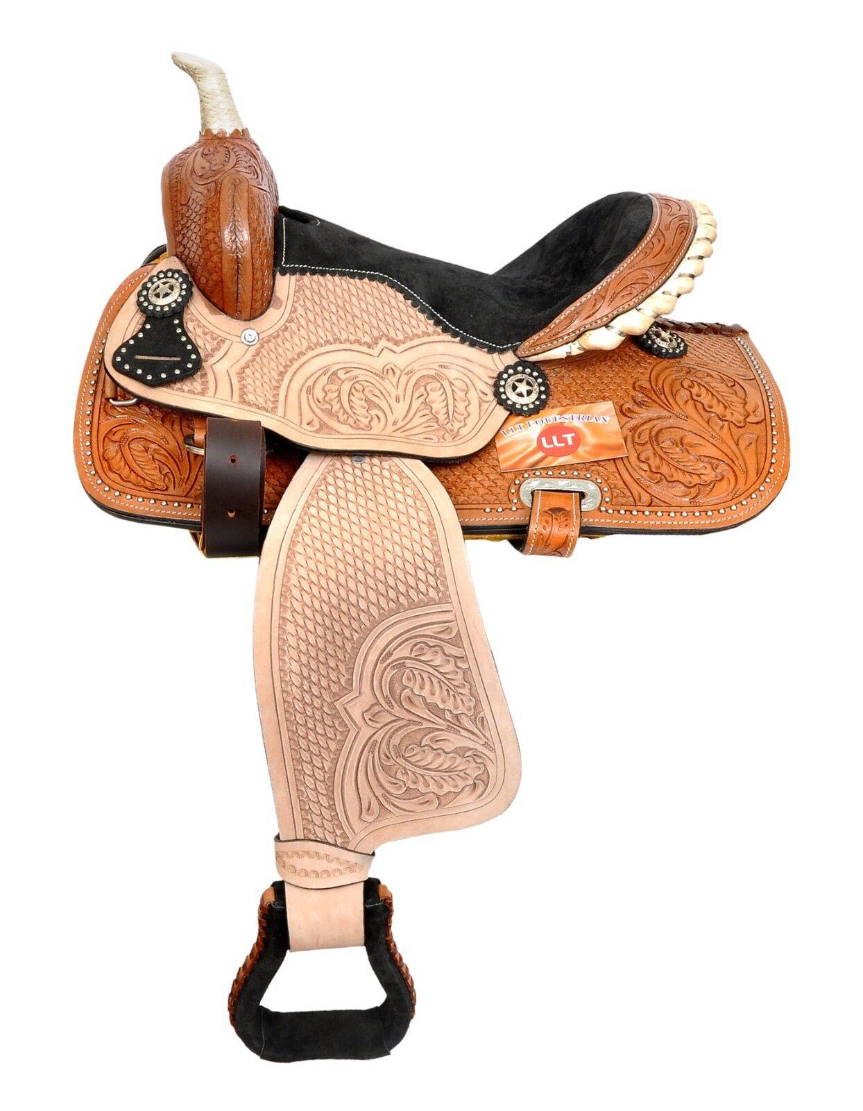WESTERN SADDLE COWBOY  TRAIL PLEASURE BEST MATERIAL  cheap wholesale