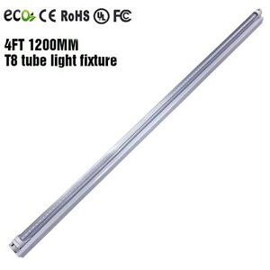 4 39 ft 18w led shop light garage ceiling fixture clear for Tube led garage