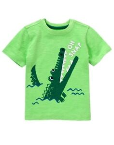 GYMBOREE BACKYARD EXPLORER WHITE w// FISHING GEAR TEE 6 12 18 24 2T 3T 4T NWT