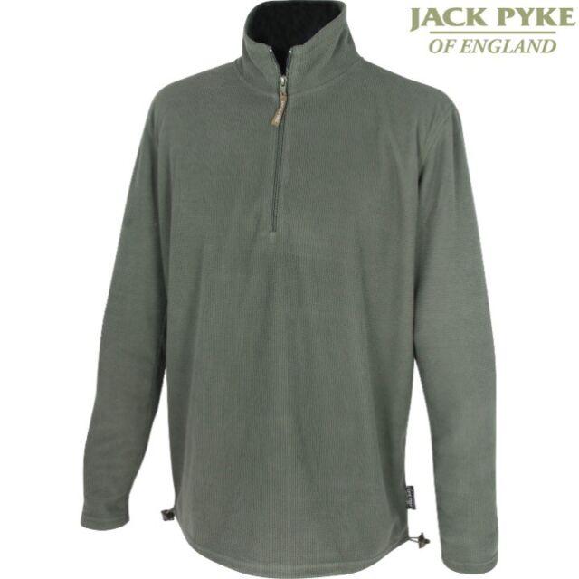 JACK PYKE LIGHTWEIGHT FLEECE TOP MENS S-3XL THERMAL LAYER HUNTING SHOOTING