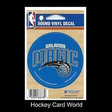 "(HCW) Orlando Magic 3"" Round Vinyl Decal Sticker NBA Licensed In/Outdoor"