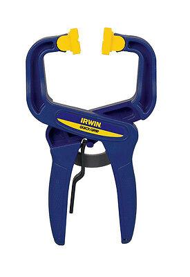 D Resin  Locking  Handi-Clamp  Blue  1 pc. Irwin  Quick-Grip  2 in