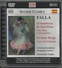 Falla El Sombrero de Tres Picos / Liebeszauber/Dreispitz DVD Audio-Neu!