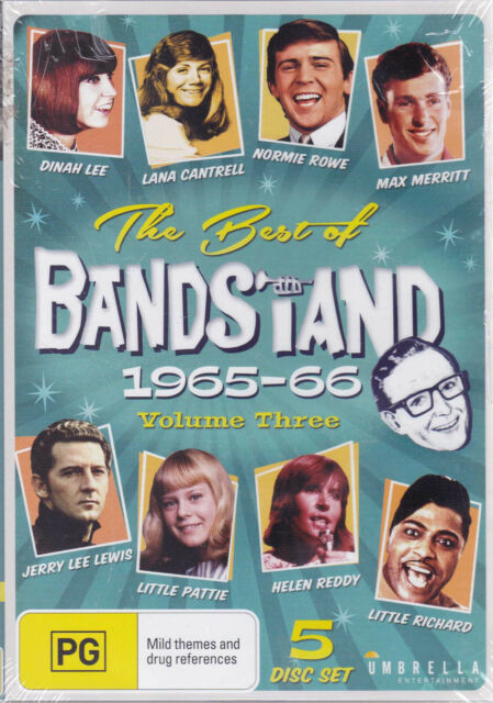 BEST OF BANDSTAND 1965 - 66 [Vol 3] DVD Region Free PAL NEW / Sealed  SirH70