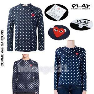 polka dot T-shirt - Blue Comme Des Garçons Discount Brand New Unisex Cheap 2018 New Exclusive Cheap Online 8PV6Hh