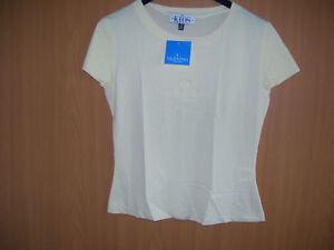 Valentino-Kids-Maedchen-Shirt-leichtes-TShirt-Kurzarm-gelb-hellgelb-Groesse-164-neu