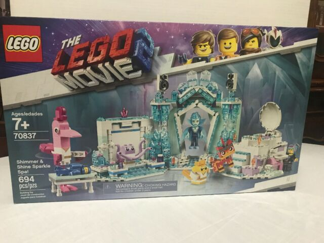 THE LEGO MOVIE 2 Shimmer and Shine Sparkle Spa! 70837 Kid Toy Gift