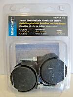 Mintcraft 2 Swivel Threaded Twin Wheel Stem Caters Nylon Wheel, 174-8649