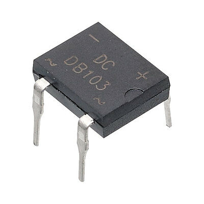 400V 1A DIL Bridge Rectifiers Pack 10 200V 1000V Select type from menu
