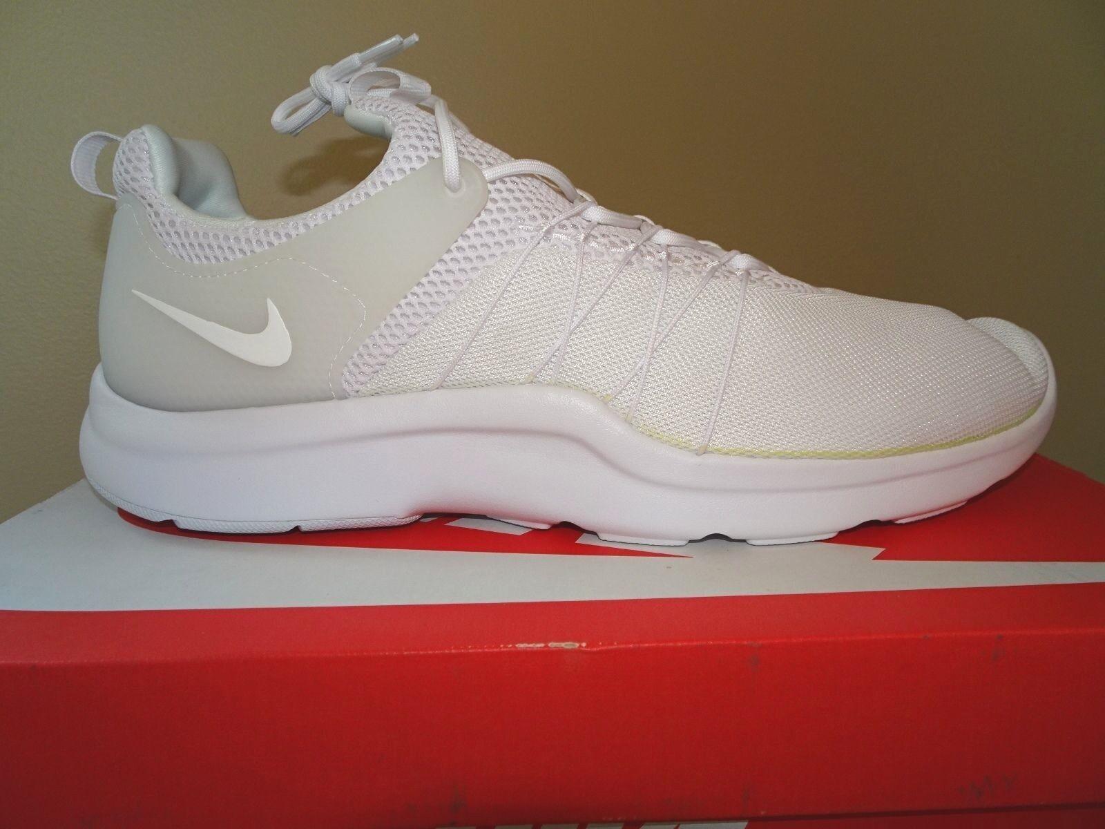 Nwd uomini nike darwin scarpa da corsa - maglie bianco bianco maglie - 5, 7,5, 13 e 15 7253fd