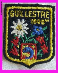 Sk737 - Patch Ski Guillestre 1000m Emmwyffn-07225700-616869527