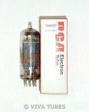 NOS NIB RCA USA 8CG7 [8FQ7] Gray Plate Side [] Get Vacuum Tube 100+%