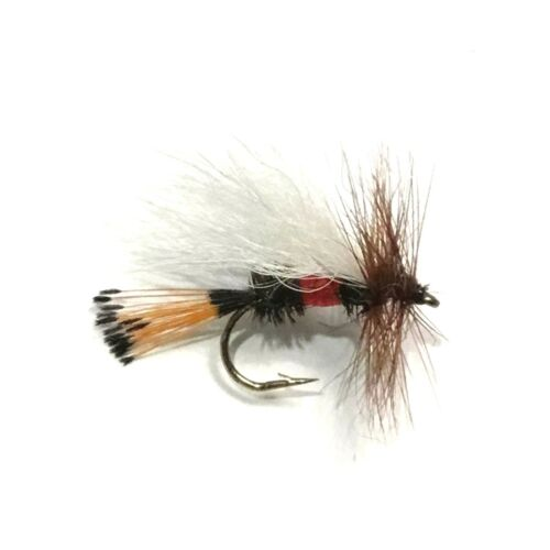 Salmon 6 x Royal Trude Dry Fly Fishing Flies For Trout