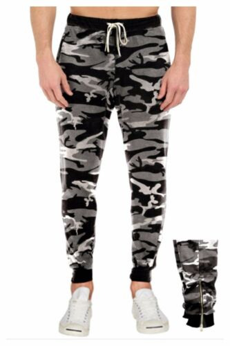 Men HEAVY WEIGHT Jogger Casual Fitness Gym Hipster Hip Hop CAMO Sweatpants S-3X