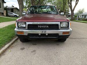 19990 toyota pickup/tacoma