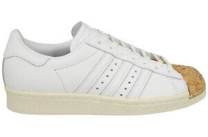 adidas-Superstar-80s-Cork-W-Sizes-8-8-5-White-RRP-100-Brand-New-BA7605-CLASSIC