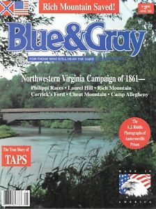 Blue-amp-Gray-Au93-Virginia-Campaign-Philippi-Races-Laurel-Hill-Rich-Allegheny