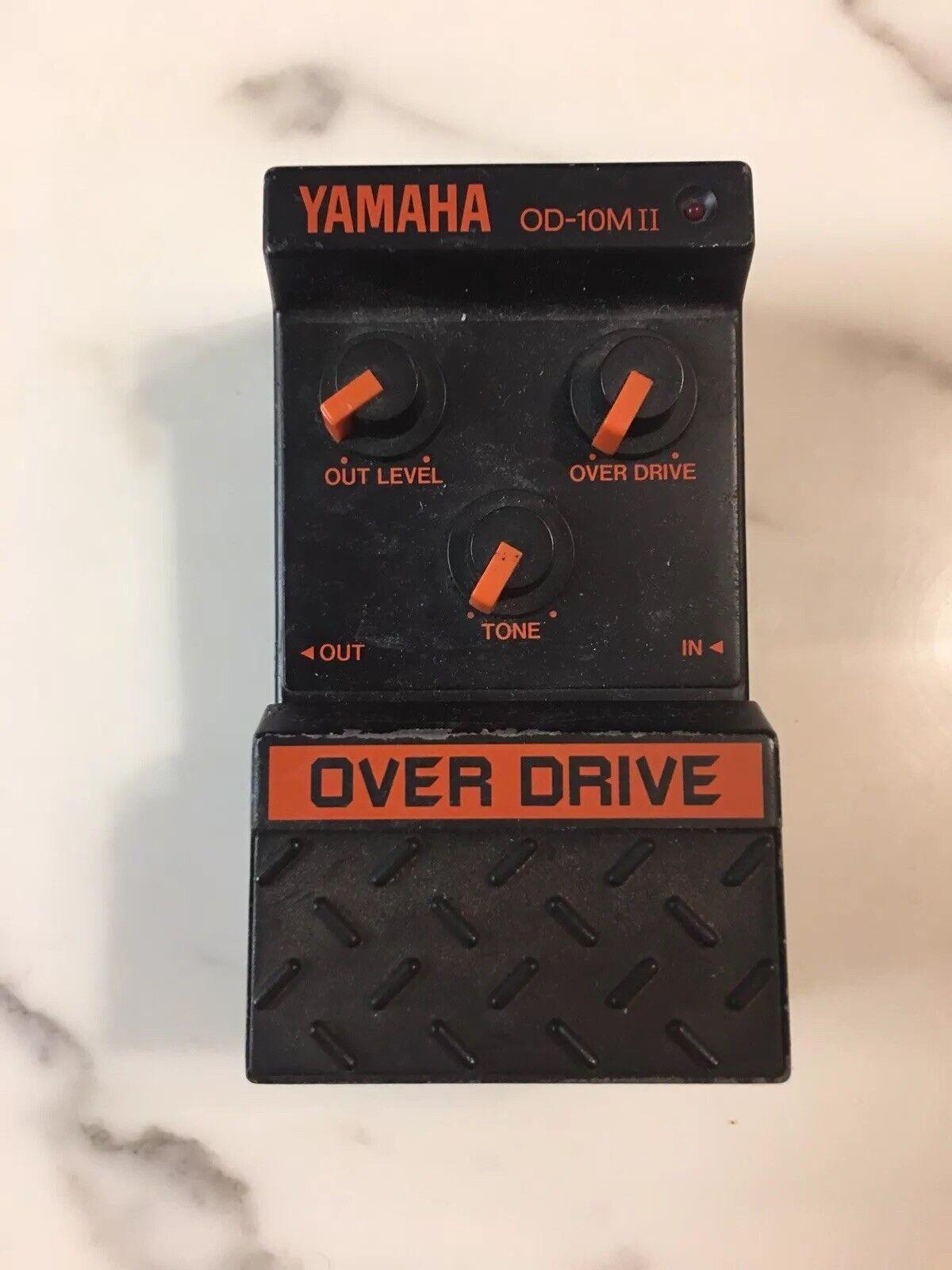 Yamaha Od-10mii Analog Overdrive Rare Vintage Gitarren Effekt Pedal Mij Japan