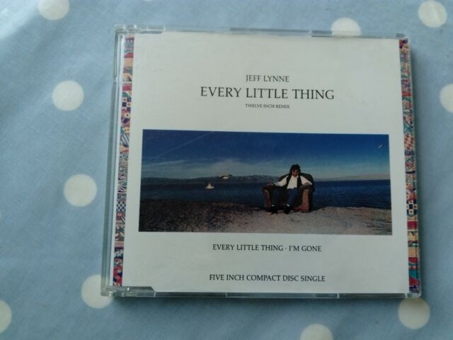 Jeff Lynne Every Little Thing 3 Track CD