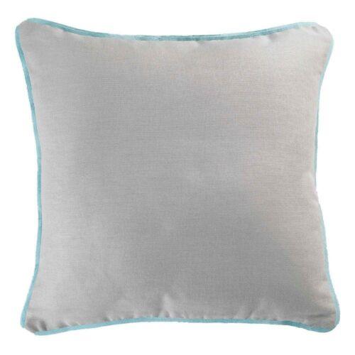 2 tailles Uni 100/% coton Panama Housse de Coussin couleurs assort