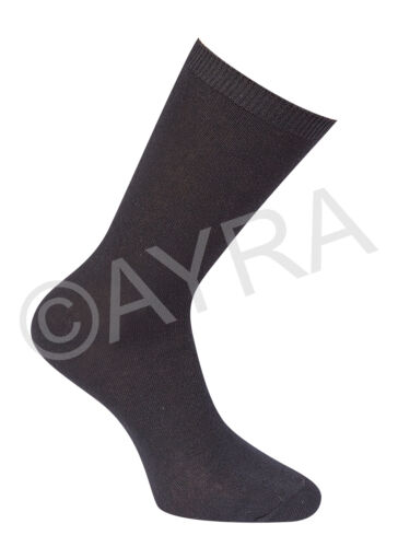 Colours Grey /& White 6 Pairs Boys Ankle Short Cotton School Socks Black