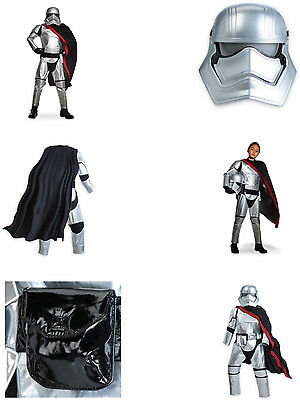 maschera cintura e mantello Costume bambini Captain Phasma Star Wars  vestito