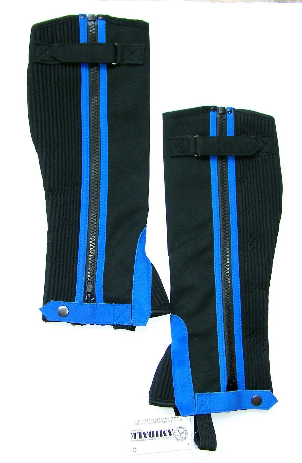 Polainas Medias para Montar Montar Montar a Caballo Amara Azul Diseño Lavables por Parte De f5fb5c