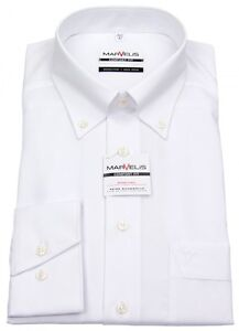 Marvelis-Herren-Hemd-Comfort-Fit-Button-Down-Kragen-weiss-7971-64-00