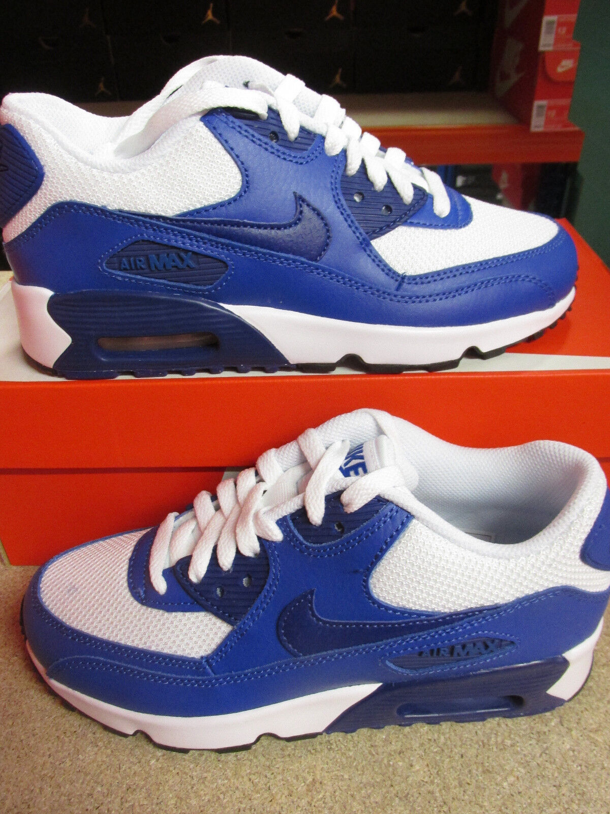 Nike Air Max 90 Mesh (GS) 833418 105 Sneakers Shoes