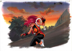 Saber-Marionette-J-Anime-Production-Cel-Douga-Copy-Background-Bloodberry