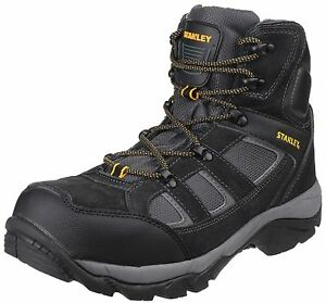 Boots Scarpe Puntale acciaio Stanley Escursioni pelle uomo in Uk7 Melrose 12 Mesh Safety scamosciata AwEHp6