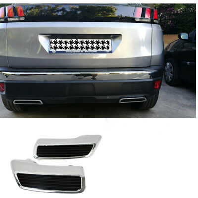 ABS Replace Rear Back  Exhaust Muffler Pipe for Peugeot 3008 Allure 5008 2016-18