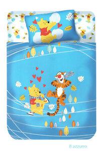 Copriletto Winnie The Pooh Caleffi.Dettagli Su Copriletto Non Trapuntato Panama Winnie The Pooh Fantasia Azzurro Caleffi Disney