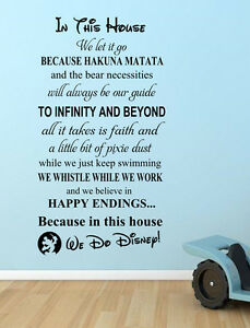 We-Do-Disney-Wall-Decals-stickers-Quote-Mickey-Boys-wall-sticker-mural-decor-diy