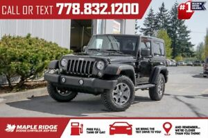2017 Jeep Wrangler Sport | 1-Owner, No Accidents, Rubicon Rims & Tires