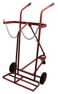Oxy/ Acetylene Cylinder Trolley With 3 Wheels