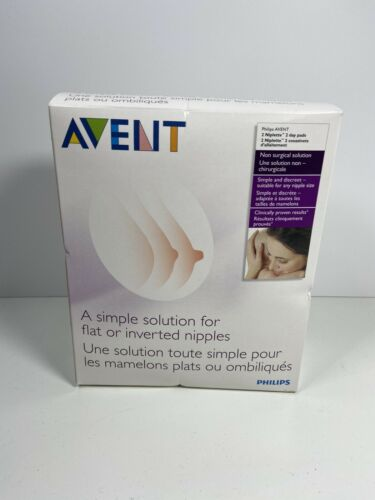 Philips Avent Niplette Twin Pack With 2xDisposable Breast Pads Discreet /& Simple