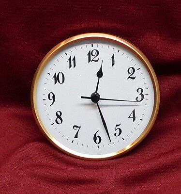 Quartz Clock Fit-up//Insert with Arabic Numeral,... Hicarer 3-1//8 Inch 80 mm